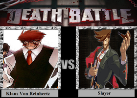 Klaus Von Reinhertz Vs Slayer by luigiguy54