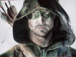 Arrow/Oliver Queen by Statyckshock