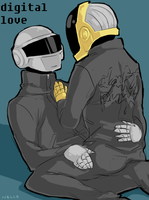 daft punk by Nellor