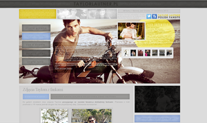 TaylorLautner.pl Design 3 by imbornforthis