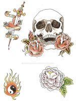 tattoo designs by OneDeadCop