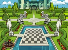 Env. Concept Battle Chess 2 by Bullettrainstudios