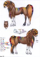 Reference Sheet Skin To Bone by viviwonda