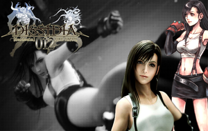 Tifa - wallpaper by Ekumimi