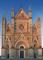 cathedral in orvieto by Sternentaucher