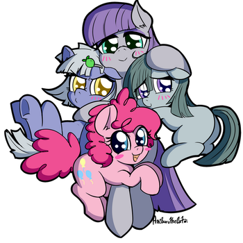 Rock Sisters by AnibarutheCat