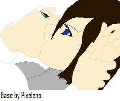 Pariah and Eleanor forced kiss by GodzillaKing