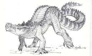 Kaprosuchus by Mr--Jack