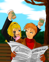 The Escapees get Coffee by ShadOBabe