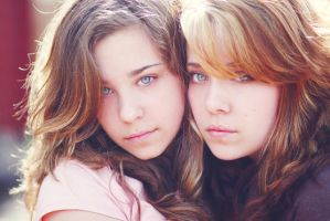 .sisters. by TakeMyWorldApart