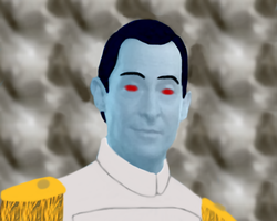 Jeremy Brett as Grand Admiral Thrawn by aleineskyfire