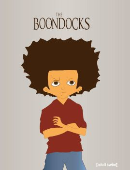 Huey of The Boondocks Posed by RdaVinci36
