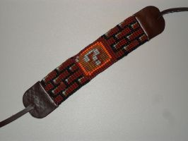Super Mario Bros Blocks beaded bracelet by kayanah