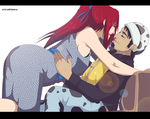 Comission Points Erza and Law Love 5 by Sarah927