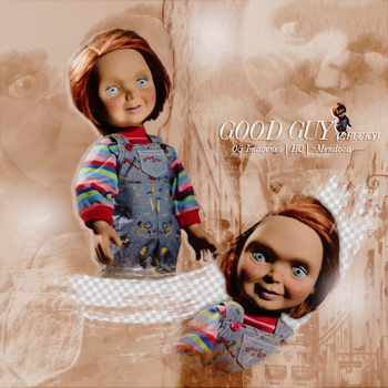 GOOD GUY (Chucky) PNG Pack #1 by LoveEm08