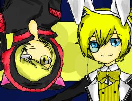 len and Oliver by Growl-Flippy