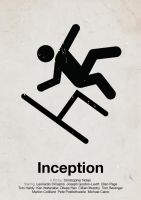 'Inception' pictogram poster by viktorhertz