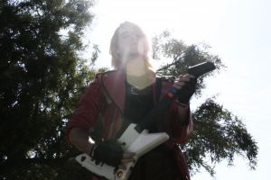 Dante with guitar by DarkStory