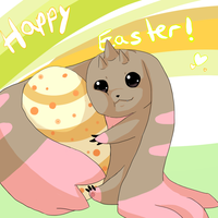 Happy Easter! by Shiranukii
