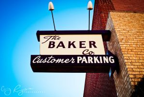 Baker Company Sign by creynolds25