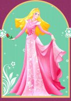 Sleeping Beauty ~ Princess Aurora (Hijab) by ainosora