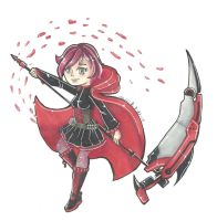 Ruby Rose by bluelun