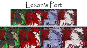 New Lexon Port 1of2 by CreatureCreatingBabe
