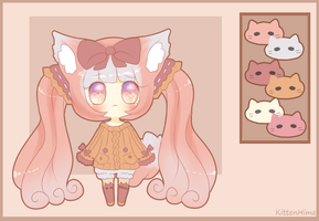 Adoptable- Sweater Kitten [Sold] by PuffyPrincess
