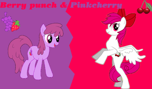 berry punch and pinkcherry wp by tunouno