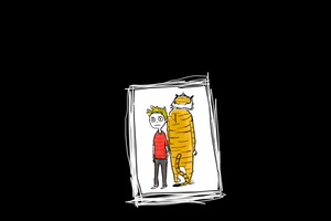 Calvin and Hobbes by annit-the-conqueror