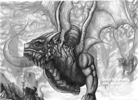 Weekly Drawing 2011 Conventus by Brollonks