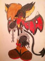 Demien The Vampire Bat :bio: by evil-angel13
