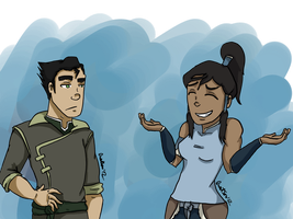 LoK: Shrug by StarbuckViper