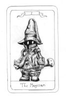 FFIX Tarot: 1 - The Magician by sugerplumfairygirl