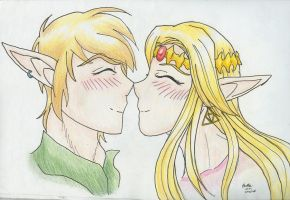 Zelink Fluffiness by Kirara91