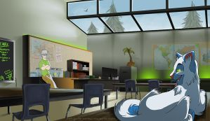 Finch's Classroom by Not-Quite-Normal