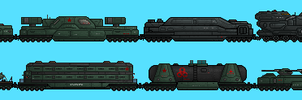 Armored Train by PrinzEugn
