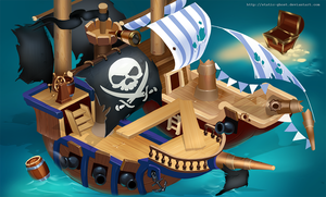 Pirates of the seven seas by Static-ghost
