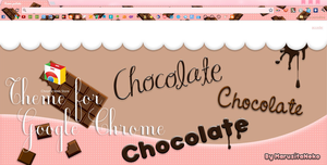 Chocolate theme Google Chrome n.n by marusitaneko