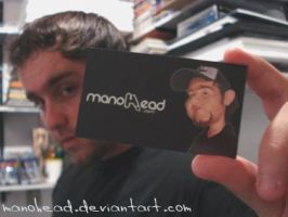 My Bussines Card by manohead