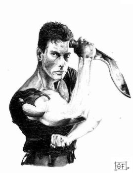 JCVD by WolfDragonCT