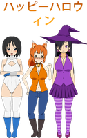 Kisekae 2 - Halloween Party by DengekiMatsuko