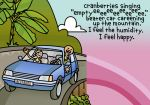 being happy in my beater car. by kitskids