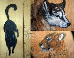 Triptych progress2 by Vattukatt
