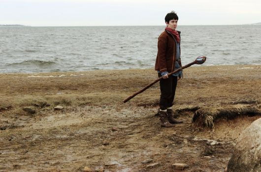 Merlin: A Cold and Barren Shore by MirroredSilhouettes