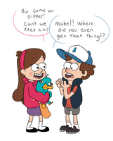 Gravity Falls by darndragon