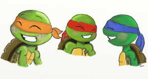TMNT-That Never Gets Old by DramaGhostGirl