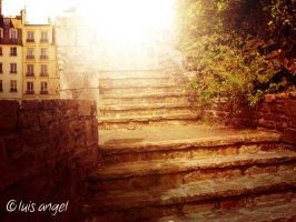 In the Stair by Hvan