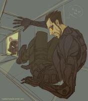 Deus Ex: Not here by maXKennedy