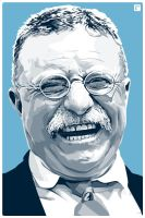 Theodore Roosevelt by monsteroftheid